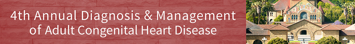 4th Annual Diagnosis and Management of Adult Congenital Heart Disease (Cancelled) Banner