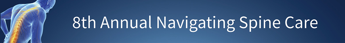 8th Annual Navigating Spine Care Banner