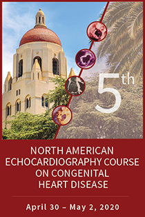 5th North American Echocardiography Course on Congenital Heart Disease Banner