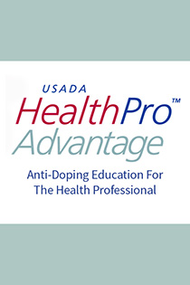HealthPro Advantage: Anti-doping Education for the Health Professional Banner