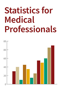Statistics for Medical Professionals Banner