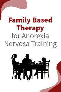 Family Based Therapy for Anorexia Nervosa Training Banner